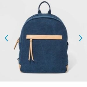 Universal Thread Blue Campbell mini backpack